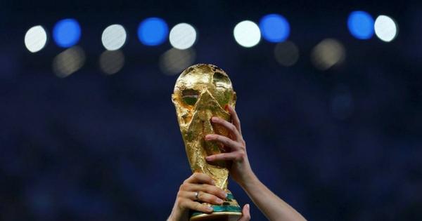 Como é feita a taça do campeonato do mundo?