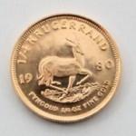 Moedas de ouro, África do Sul, Krugerrand