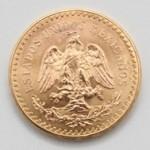 Moedas em Ouro do México