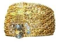 O maior anel de Ouro do mundo