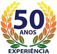 50 anos de experiência