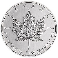 moeda de paládio