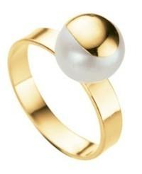 anel com pérola