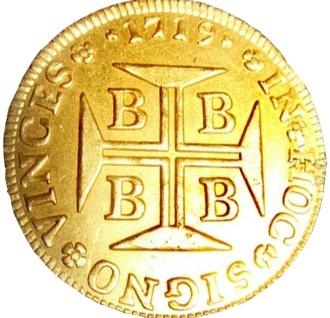 moedas de ouro portugues