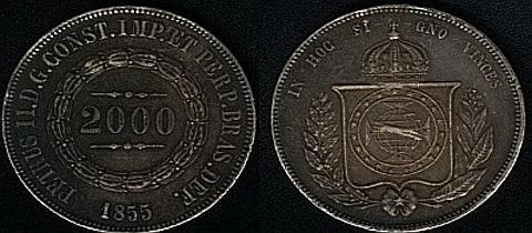 Petrus II.P.G.CONST.IMP.ET.PERP.BRAS.DEF-D.Pedro II,