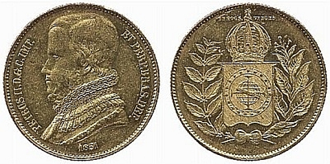 20.000 Réis ouro 917, 17.92 gramas