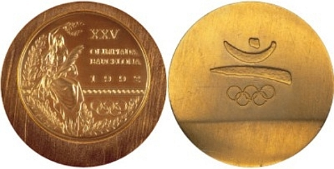 Medalha Barcelona 1992