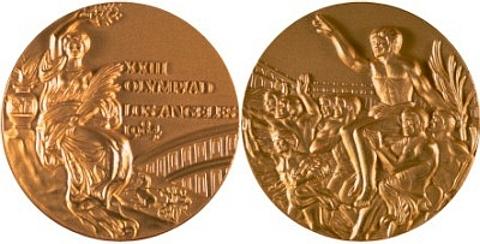 Medalha Los Angeles 1984