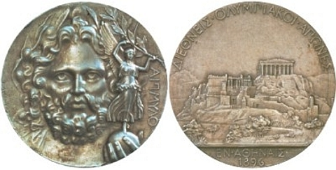 Medalhas Atenas