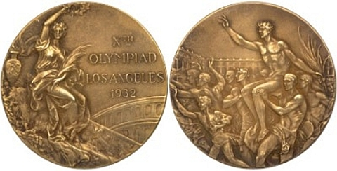 Medalha Los Angeles 1938