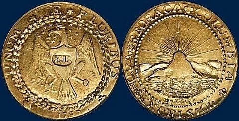 Brasher Doubloon EB on Breast