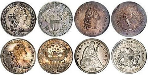 1804 Classe I Silver Dollar da coleção de Queller