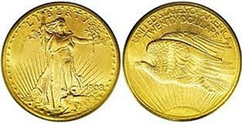 Saint-Gaudens Double Eagle-