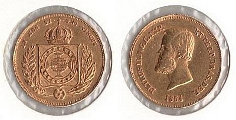 5.000 réis, ouro 917 4.48 gramas