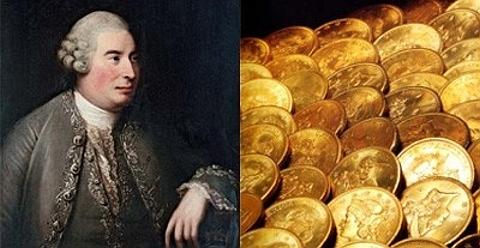 David Hume, moedas de ouro