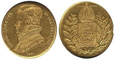 10.000 réis ouro 917, 8.96 gramas