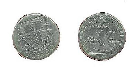 moeda portuguesa