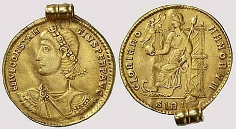 moedas de ouro romano,