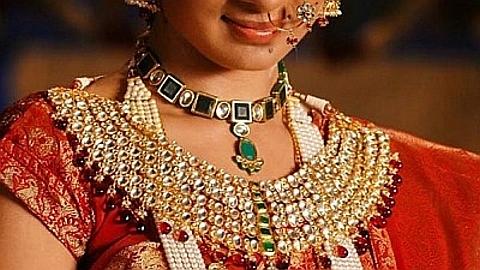 colar em ouro indiano