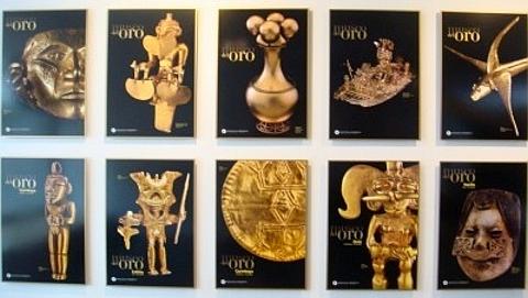 adornos em ouro