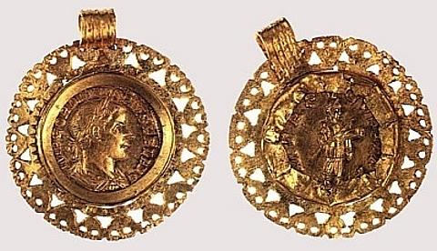 cunhagem de Vaise (Lyon), III d. C., Lyon, Musée de la Civilização galo-romana