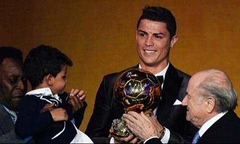 Parabéns Cristiano Ronaldo, Vencedor da Bola de Ouro 2013