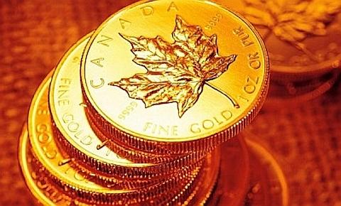 Moeda de ouro, Canadá