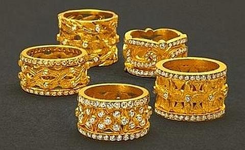 Jóias em ouro puro