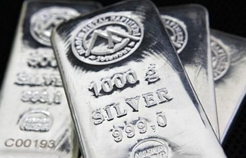 barras de prata