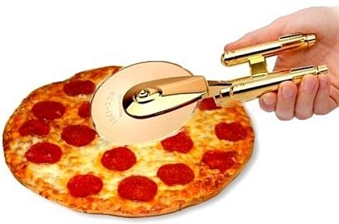 [Cortador de pizza Star Trek]