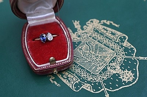 Anel de noivado de Napoleão e Josefina
