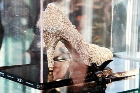 [Sapato mais caro do mundo]