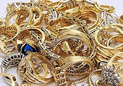 jóias em ouro