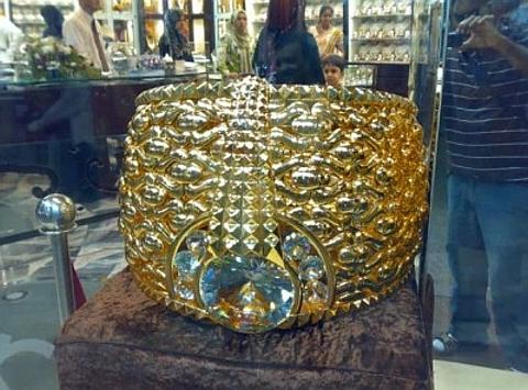 Maior anel de ouro do mundo