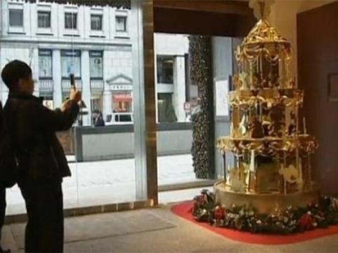 [Árvore de Natal em Ouro]