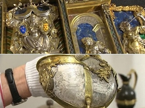 objectos em prata da época da Renascença
