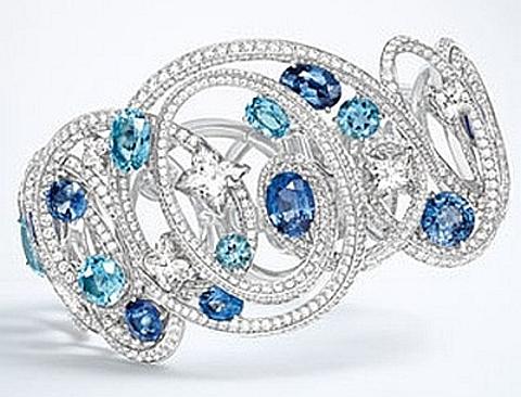 Coleção de jóias de luxo de Louis Vuitton
