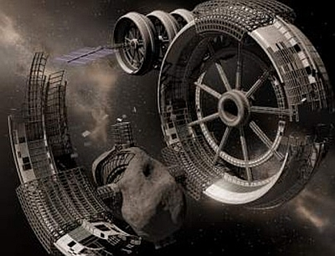 mineração no espaço