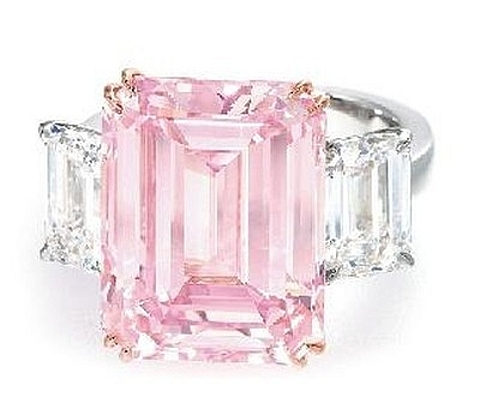 Anel diamante perfect pink