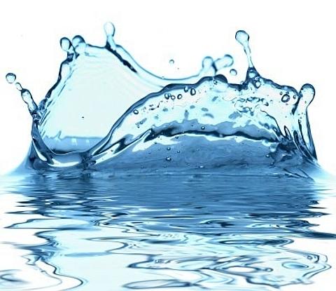 água de luxo