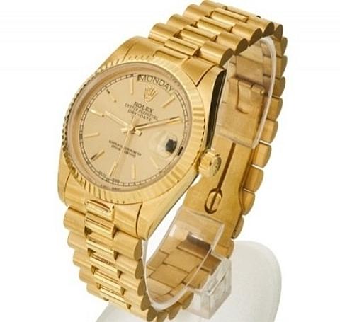 Relógios em ouro