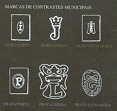 Marcas de contrastarias Municipais