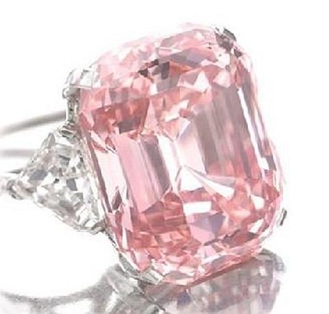Anel diamante Graff Pink