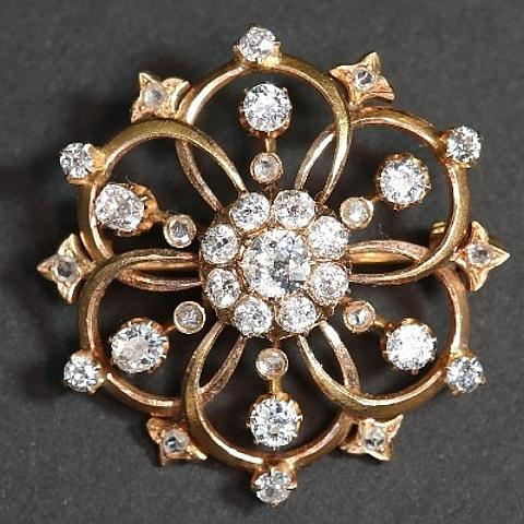 Jóias com diamantes