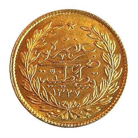 Turquia, moeda de ouro