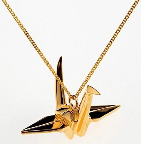origami em ouro