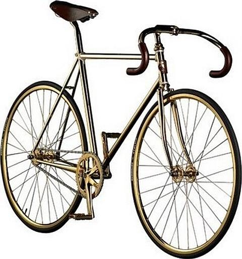 Bicicleta de ouro