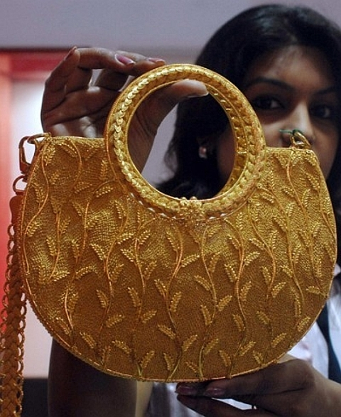Feira internacional de jóias na Índia
