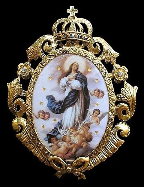 medalhas de santas