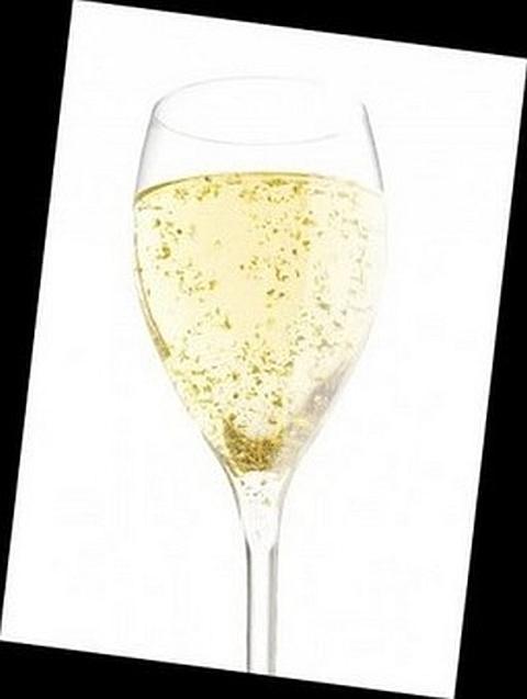 Champagne em Ouro
